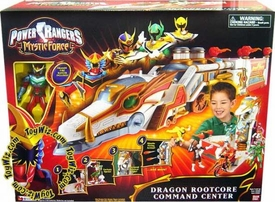 Power Rangers Mystic Force Deluxe Vehicle Dragon Rootcore Command Center with Dragon Fire Ranger Action Figure
