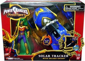 Power Rangers Mystic Force ATV Vehicle Solar Tracker with Solaris Knight Action Figure