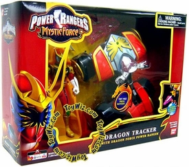 Power Rangers Mystic Force ATV Vehicle Dragon Tracker with Dragon Force Action Figure