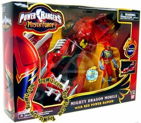 Power Rangers Mystic Force Mighty Dragon Mobile with Red Ranger Action Figure