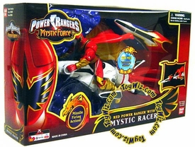 Power Rangers Mystic Force Racer with Red Ranger Action Figure