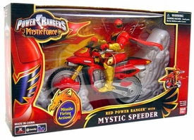 Power Rangers Mystic Force Mystic Speeder with Red Power Ranger Action Figure