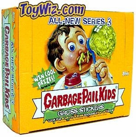 Topps Garbage Pail Kids Series 18 (All-New Series 3) Trading Card Stickers Box