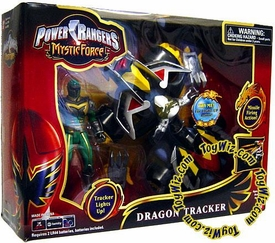 Power Rangers Mystic Force ATV Vehicle Dragon Tracker with Green Ranger Action Figure