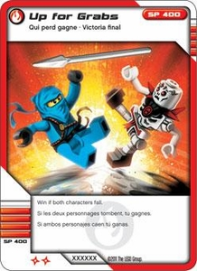 LEGO Ninjago Single Card 28/81 Up for Grabs