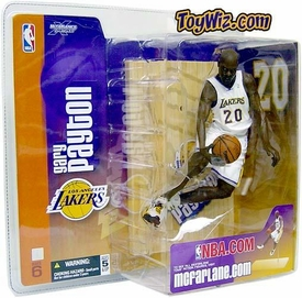 McFarlane Toys NBA Sports Picks Series 6 Action Figure Gary Payton (Los Angeles Lakers) White Jersey