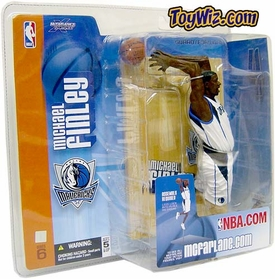 McFarlane Toys NBA Sports Picks Series 6 Action Figure Michael Finley (Dallas Mavericks) White Jersey