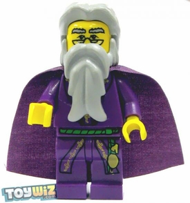 LEGO Harry Potter LOOSE Mini Figure Albus Dumbledore with Purple Cape Yellow Flesh