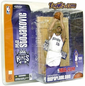 McFarlane Toys NBA Sports Picks Series 6 Action Figure Peja Stojakovic (Sacramento Kings) White Jersey