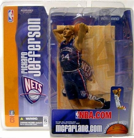 McFarlane Toys NBA Sports Picks Series 6 Action Figure Richard Jefferson (New Jersey Nets)