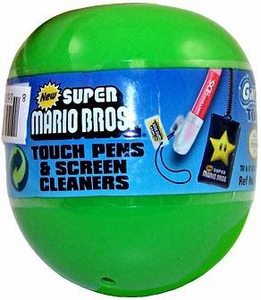 Tomy Gacha New Super Mario Bros. Touch Pens & Screen Cleaners Blind Pack