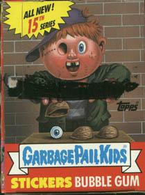 Topps Garbage Pail Kids Trading Cards Series 15 Booster BOX
