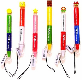 New Super Mario Brothers BanPresto DS Stylus Set