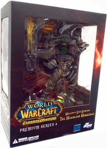 World of Warcraft Premium Series 4 Action Figure The Headless Horseman [Hallow's End Nemesis]