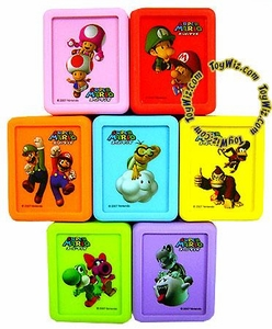 Super Mario Brothers BanPresto Set of 7 Nintendo DS Game Protectors