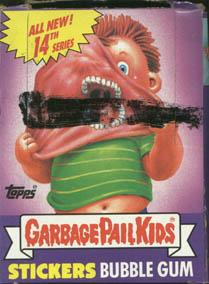 Topps Garbage Pail Kids Trading Cards Series 14 Booster BOX