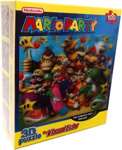 Nintendo 3D Lenticular Puzzle Mario Party [Day Time Cover]