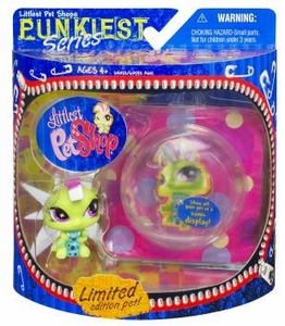 Littlest Pet Shop Series 1 Limited Edition Extreme Punkiest Caterpillar