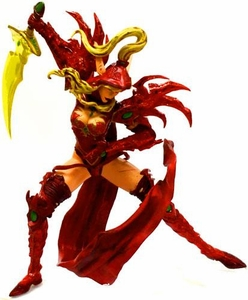 World of Warcraft DC Unlimited Series 1 LOOSE Action Figure Blood Elf Rogue [Valeera Sanguinar]