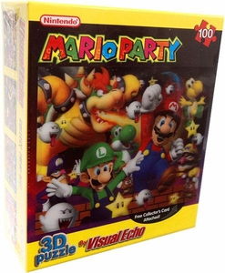 Nintendo 3D Lenticular Puzzle Mario Party [Night Time Cover]