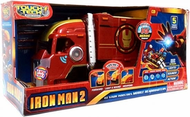Iron Man 2 Touch Tech 13 Inch Deluxe Vehicle Stark Industries Mobile Headquarters