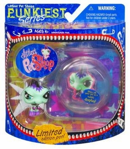 Littlest Pet Shop Series 1 Limited Edition Extreme Punkiest Iguana