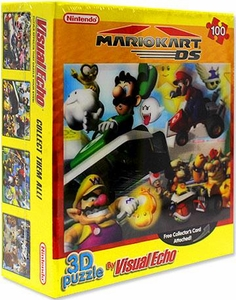 Nintendo 3D Lenticular Puzzle Mario Party [Orange Cover with Luigi]