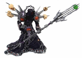 World of Warcraft DC Unlimited Series 1 LOOSE Action Figure Undead Warlock [Meryl Felstorm]