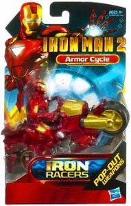 Iron Man 2 Movie Iron Racers Vehicle Armor Cycle