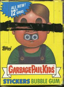 Topps Garbage Pail Kids Trading Cards Series 12 Booster BOX
