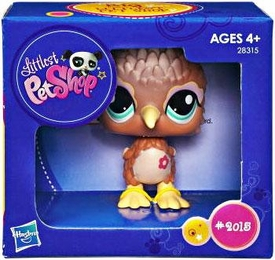 Littlest Pet Shop Exclusive Limited Edition Figure Kiwi Bird