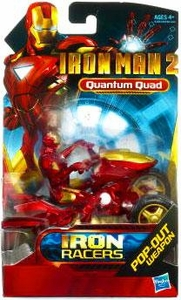 Iron Man 2 Movie Iron Racers Vehicle Quantum Quad