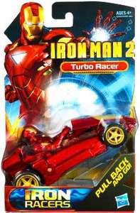 Iron Man 2 Movie Iron Racers Vehicle Street Racer