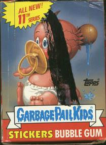 Topps Garbage Pail Kids Trading Cards Series 11 Booster BOX