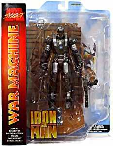 Marvel Select Iron Man 2 Movie Action Figure War Machine