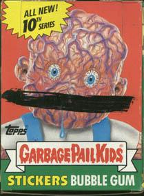 Topps Garbage Pail Kids Trading Cards Series 10 Booster BOX
