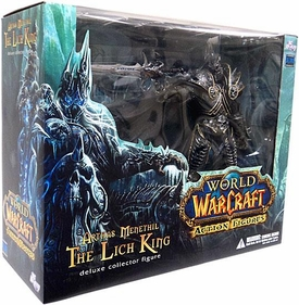 World of Warcraft DC Direct Deluxe Action Figure Lich King Arthas Menethil
