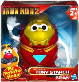 Iron Man 2 Movie Mr. Potato Head Tony Starch