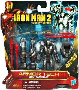 Iron Man 2 Concept Armor Tech Deluxe Action Figure War Machine