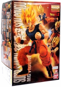 Dragonball Z Bandai Figure Rise 1/8 Scale Master Grade Model Kit Super Saiyan Son Goku