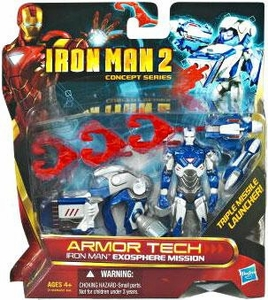 Iron Man 2 Concept Armor Tech Deluxe Action Figure Exosphere Mission