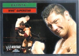 Topps CHROME WWE Heritage Trading Card Superstar # 2 Batista