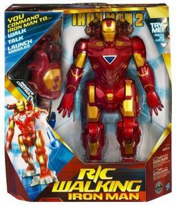 Iron Man 2 R/C Remote Control Action Figure Walking Iron Man