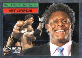 Topps CHROME WWE Heritage Trading Card Superstar # 4 Orlando Jordan