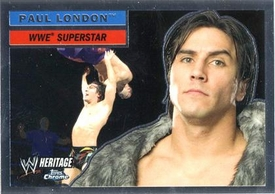 Topps CHROME WWE Heritage Trading Card Superstar # 5 Paul London