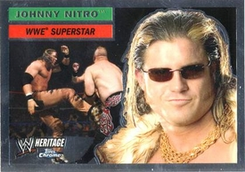 Topps CHROME WWE Heritage Trading Card Superstar # 6 Johnny Nitro