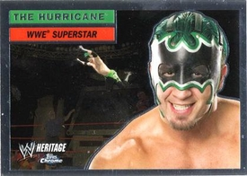 Topps CHROME WWE Heritage Trading Card Superstar # 8 Hurricane