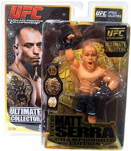 Round 5 UFC Ultimate Collector Series 6 CHAMPIONSHIP EDITION Action Figure Matt Serra [Includes Belt!]
