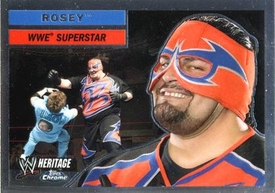 Topps CHROME WWE Heritage Trading Card Superstar # 9 Rosey JUST REDUCED!