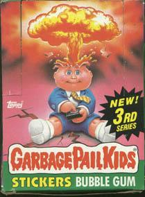 Topps Garbage Pail Kids Trading Cards Series 3 Booster BOX